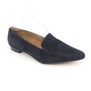 Clarks Corabeth Erin Suede Pointed Toe Flat Loafer
